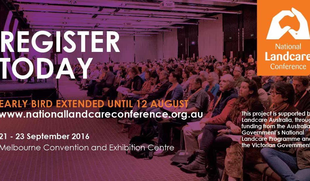 National Landcare Conference Register Today