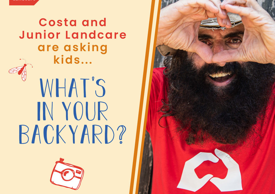 Costa Georgiadis and Junior Landcare ask Aussie kids Whats in Your Backyard?