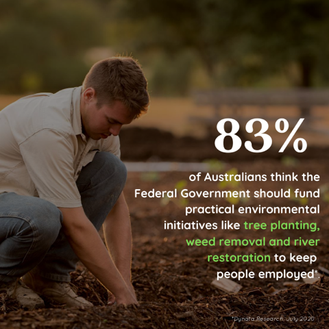 Support growing for an environmental job stimulus package