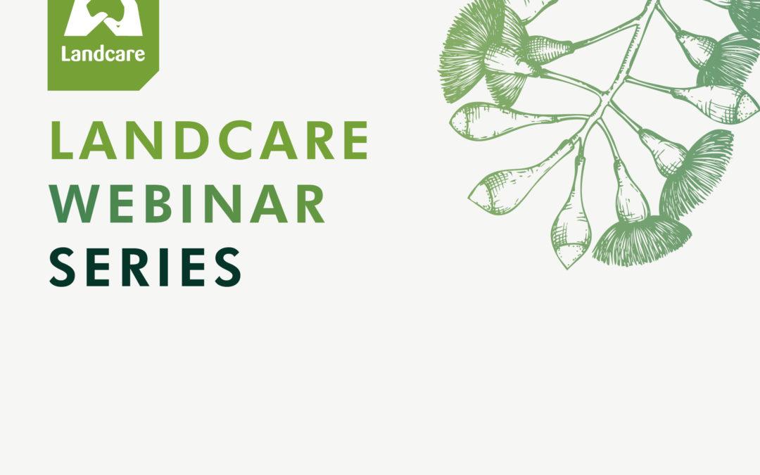 Landcare Webinar series