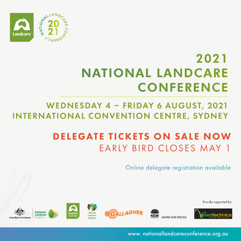 2021 National Landcare Conference Early Bird